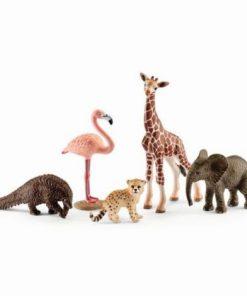 Set figurine schleich animale salbatice asortate sl42388