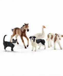 Set figurine schleich animalute din lumea fermei sl42386