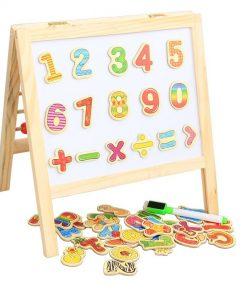 Tabla magnetica copii cu abac