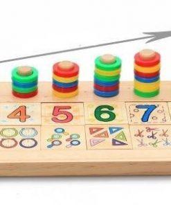 Tabla operatiuni matematice din lemn