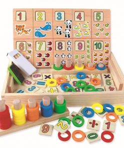 Tablita multifunctionala Montessori Model Donuts