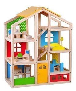 Tooky Toy Casa papusilor mare