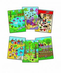 Water magic: carte de colorat whos hiding?