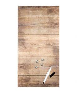 Tablă magnetică Styler Wood, 30 x 60 cm