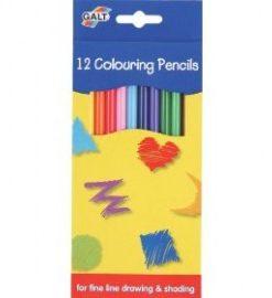 Creioane colorate 12 Galt - Colouring Pencils
