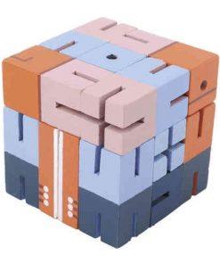 Joc logic 3D puzzle Boy albastru