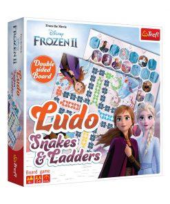 Joc de societate Trefl Disney Frozen 2, Ludo Snakes and Ladders