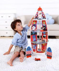 Racheta Copiilor - Joc de lemn Eco