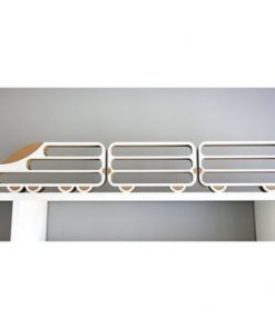 Set 3 rafturi Unlimited Design, locomotivă-vagon