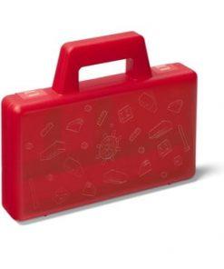 Cutie depozitare LEGO® To Go, roșu
