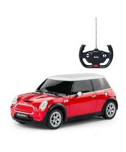 Masina cu telecomanda Rastar Mini Cooper S, 1:14, Rosu