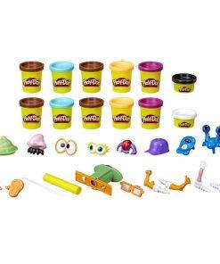 HASBRO Play-Doh Poop Troop Set with 12 Cans