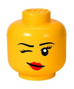 Cutie depozitare LEGO® Winky L, galben, ⌀ 24,2 cm