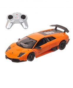 Masina cu telecomanda Rastar Lamborghini Murcielago LP670-4, 1:24, Portocaliu