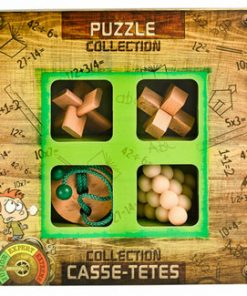 3D Junior Wooden Puzzles Collection