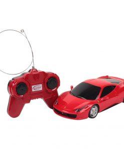 Masina cu telecomanda Rastar Ferrari 458, Italia, 1:24, Rosu