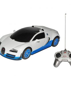 Masina cu telecomanda Rastar Bugatti Grand Sport Vitesse,1:24, Alb