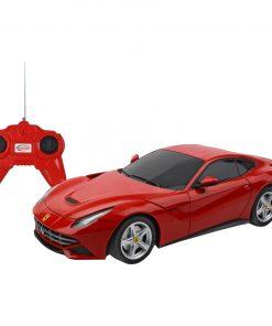 Masina cu telecomanda Rastar RC Ferrari F12, 1:24, Rosu