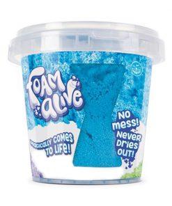 Galetusa cu spuma modelatoare Foam Alive, Albastru, 150G