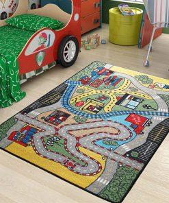 Covor de joaca Race 100x150 cm