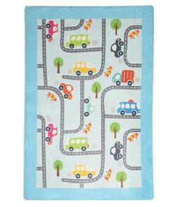 Covor de joaca Baby Cars 100x160 cm