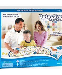Joc educativ Detectives Looking Chart