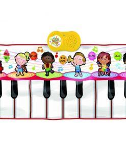 Covor muzical cu activitati Piano Orchestra 46x120 cm
