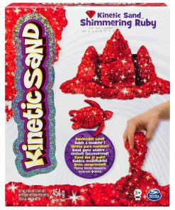 Kinetic Sand - Pietre pretioase, Ruby Red