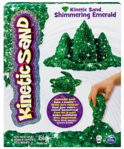 Kinetic Sand - Pietre pretioase, Emerald Green