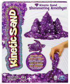 Kinetic Sand - Pietre pretioase, Purple Amethyst