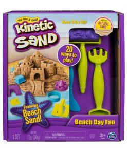 Set de creatie Kinetic Sand - O zi la plaja