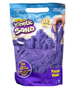 Rezerva nisip colorat Kinetic Sand, Mov, 900g