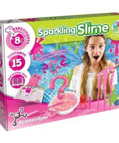 Joc educativ Science4you, set gelatina sclipitoare