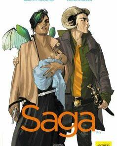 Saga. Volumul 1/Brian K. Vaughan, Fiona Staples