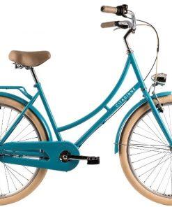Bicicleta oras Dhs Citadinne 2634 460 mm verde light 26 inch