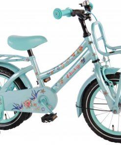 Bicicleta pentru fete 14 inch, cu roti ajutatoare, Volare Tattoo