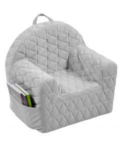 Albero Mio Velvet Kids fotoliu bebelusi - V102 Grey