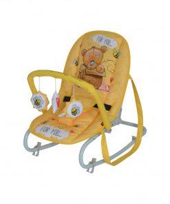 Fotoliu balansoar Top Relax Yellow Bear