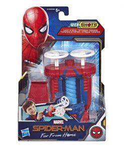 Lansator spiderman cu proiectile