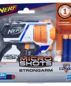 Nerf blaster microshots strongarm