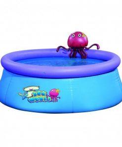 Piscina gonflabila jilong, cu caracatita pentru amuzament