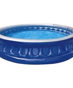 Piscina gonflabila pentru copii soft side pool, varsta recomandata: 24 de luni - 6 ani, albastra