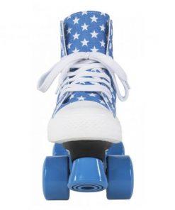 Role Rookie Canvas High Stars bleu cu alb 34