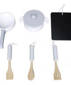 Set tacamuri accesorii bucatarie ecotoys