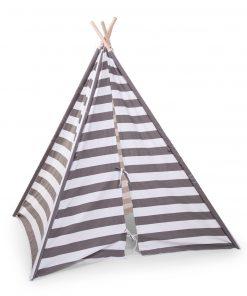 Cort de indieni pentru copii Grey Stripes