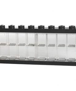 Cutie pentru 16 minifigurine LEGO®, negru