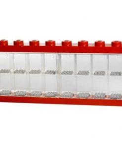 Cutie pentru 16 minifigurine LEGO®, roșu