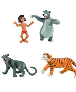 Set 4 Figurine Cartea Junglei