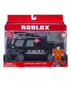 Roblox Masina Cu Functii Si 2 Figurine - Jail Break Swat Unit
