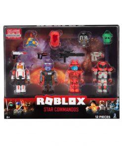 Roblox Blister 4 Figurine Interschimbabile - Star Commandos
